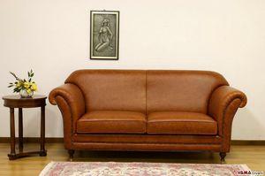 Chelsea Canapé, Canapé luxueux de style anglais inspiré du design des années 50