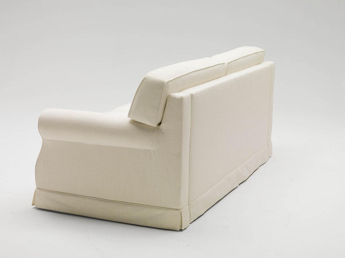 Gordon, Canapé-lit avec une ligne classique