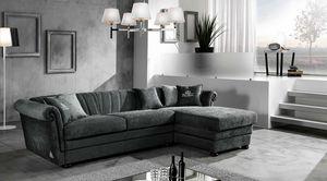 HENDRIX modulaire, Canapé-lit avec méridienne