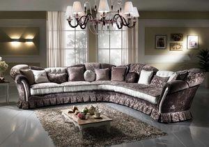IMPERIALE angulaire, Canapé d'angle avec un design impressionnant