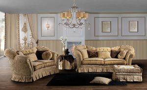 IMPERIALE, Canapé impressionnant, avec un design classique