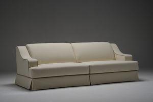 Piero, Canapé pour salon, avec deux, trois et quatre sièges