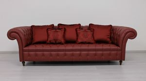 Swing, Canapé en style Chesterfield anglais