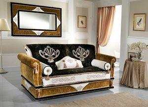 UNIQUE, Canapé avec coussins décoratifs