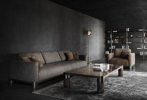Bold Sofa, Canapé personnalisable élégant