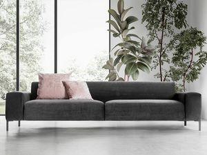 Boston liscio, Canapé confortable, avec un design raffiné
