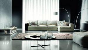 Hermes, Canapé design, confort maximum