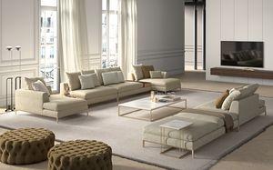 Louis, Canapé avec un design minimal