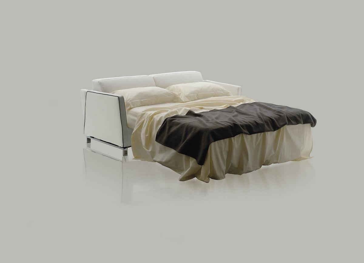 Benny, Canapé-lit avec mécanisme Lampolet