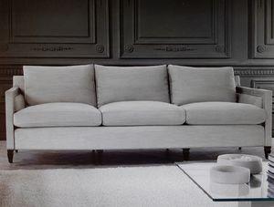 Edmond, Canapé 3 places, coussins avec revêtement amovible
