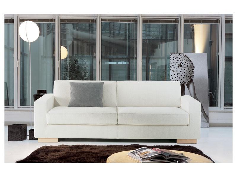 Brug, élégant canapé en mousse de polyuréthane, pour les bureaux