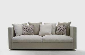 Company, Canapé confortable, pour des salons élégants, amovible revêtement en tissu