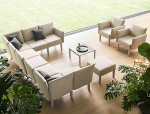 Conga, Système d'assise modulaire pour le salon, pour l'intérieur et l'extérieur