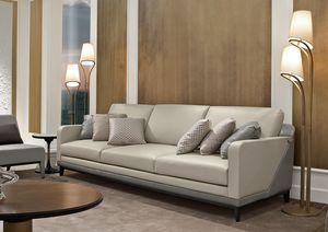 Dilan Art. D82 - D83, Canapé en bois et cuir