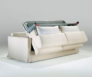 Diletto, Canapé-lit à portée de main, avec filet orthopédique soudé