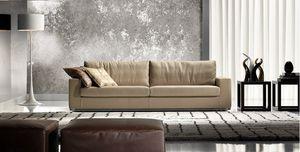 Ever, Canapé moderne avec coussins moelleux