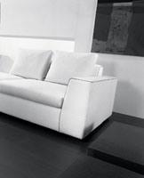 Free, Canapé moderne, tissu en fibres acryliques, par hôtel