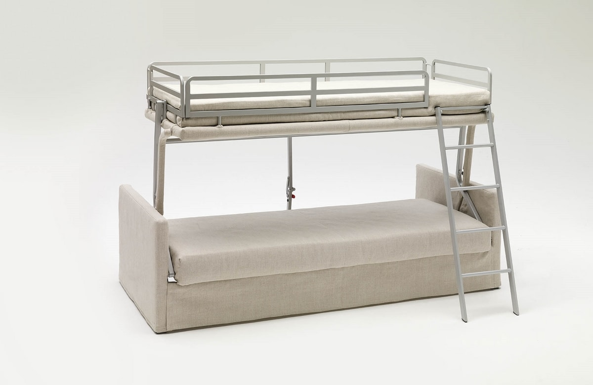 George, Canapé convertible en lit superposé