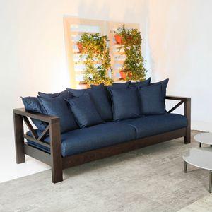 Hollywood Soft, Canapé avec structure en bois massif