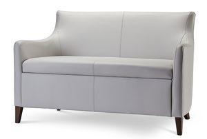 MADEIRA D LOUNGE 1, Canapé à deux places en tissu ou en éco-cuir