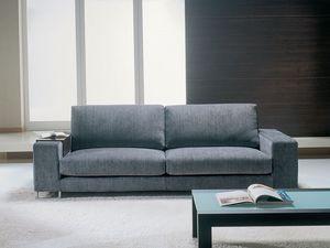Mikonos, Canapé en tissu amovible, design épuré, pour le bureau