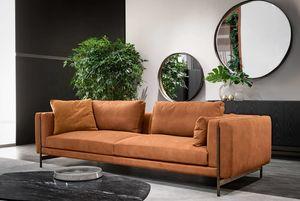 Shangai canapé, Canapé composable, avec structure en métal