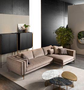 Shangai canapé d'angle, Canapé modulable au design moderne