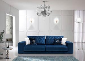 TESLA, Canapé de style contemporain adapté à tous les environnements