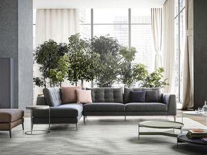 Time, Design linéaire Sofa, iconique et raffiné