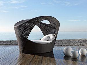 Altea alcova, Alcove Sofa, tissés, pour patio et des espaces de détente