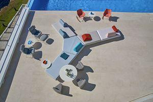 Bento Canapé modulable, Canapé modulable au design moderne, pour extérieur et intérieur