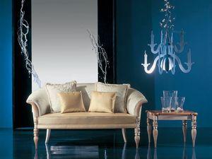288D, Petit canapé de luxe classique
