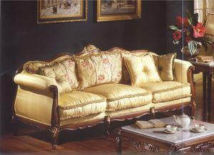 3315 SOFA, Canapé trois places pour les salons de style classique de luxe
