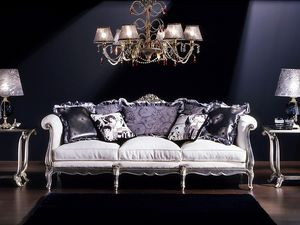 3380 Canapé Louis XV , Canapé 3 places, style Louis XV, aux classiques salles de séjour