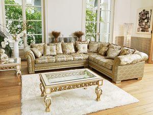 Ambassador modulaire, Coin luxe canapé classique, mesure personnalisable