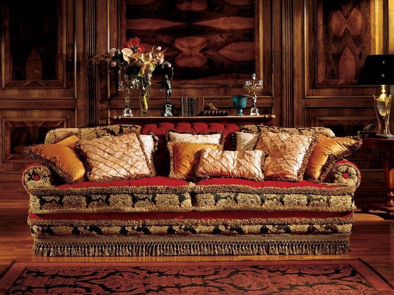 Angelica sofa, Canapé de luxe, fait main, style classique