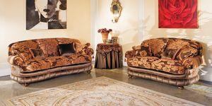 Aramis, Canapé avec des lignes courbes, le style de luxe classique