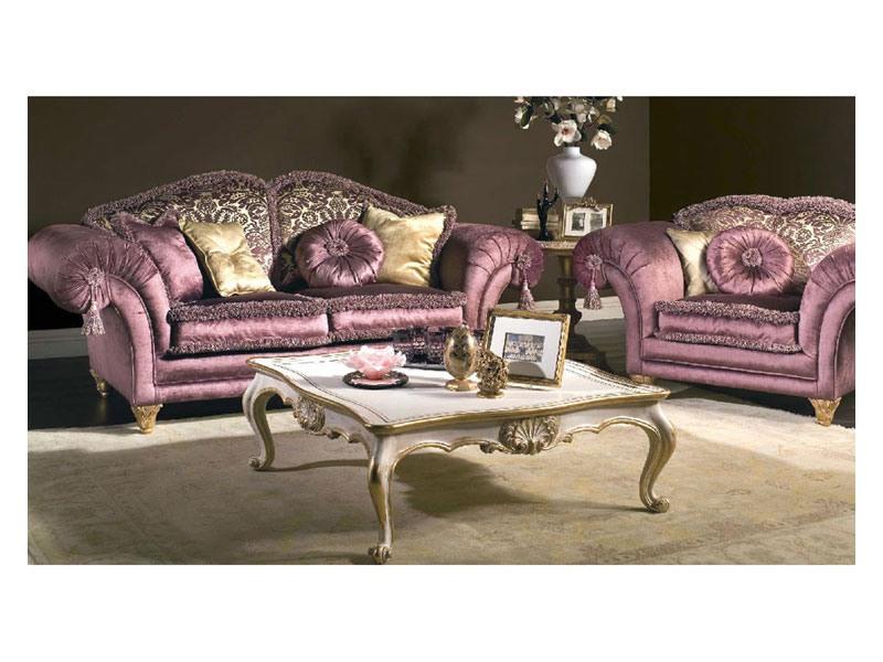 Art. MA 43 Majestic, Canapé classique d'une grande élégance, riche de détails précieux