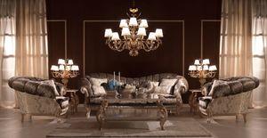 Benedetta, Canapé classique de luxe, de haute qualité, pour les villas