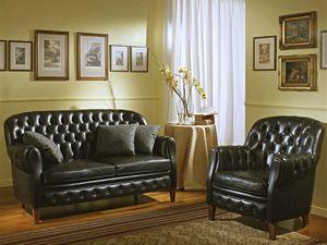 Bulbas Divano Capitonnè, Luxe canapé classique, capitonné, des halls d'hôtel et salon