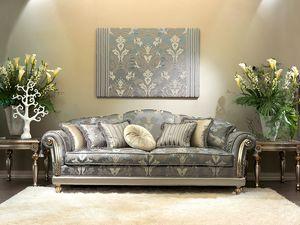 Etoile, Luxe canapé classique pour Hall, sculpté à la main