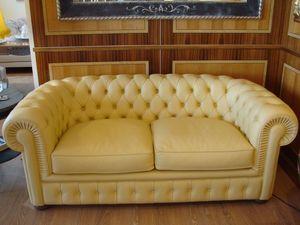 Chester, Canapé Fuligule, classique, avec 2 sièges, pour le salon