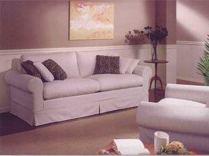 Copenhagen Sofa, Canapé classique pour salon, avec un tissu amovible