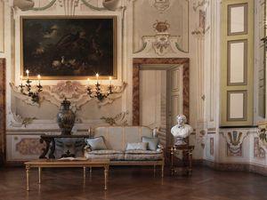 Creola canapé, Canapé sculpté, au style luxueux