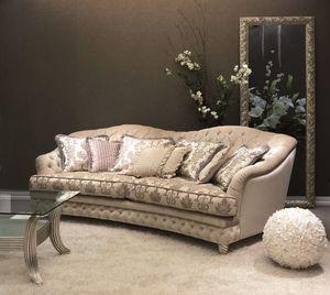 Denver Capitonnè Sofa, Quilted canapé pour luxe classique salon