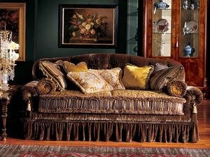 Elena sofa, Canapé classique de luxe