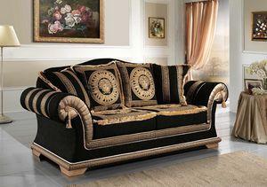 EMPORIO Canapé, Canapé classique tapissé en tissu élégant