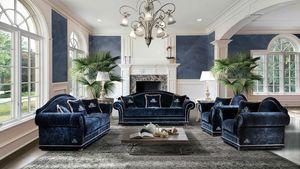 ETOILE, Canapé et fauteuil de style classique