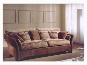 Ginevra Sofa, Canapé de style classique pour salon
