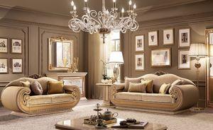 Leonardo salon, La vie contemporaine chambre classique, pour les villas